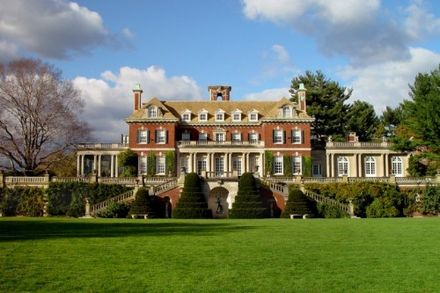 Inspiration for the Buchanan estate came from Old Westbury Gardens in Old Westbury, New York. Old Westbury Gardens Mansion.jpg