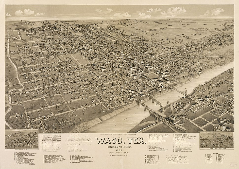 Old map-Waco-1886
