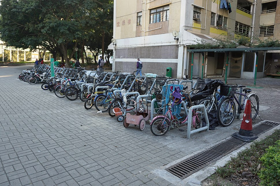 On Ting Estate Bicycle Parking Space