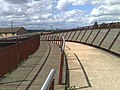 On the Millennium bridge, part of the green wheel - panoramio.jpg