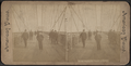 On the promenade, Brooklyn Bridge, from Robert N. Dennis collection of stereoscopic views.png