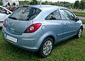 Opel Corsa D rear 20070611.jpg