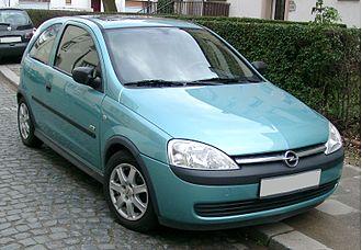 Opel Eisenach - Image: Opel Corsa front 20080111