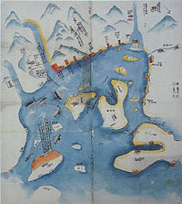 Operations map of the Second Choshu Expedition by Sakamoto Ryoma.jpg