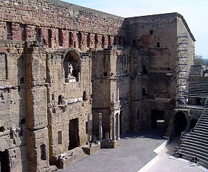 History of theatre - Roman theatre at Orange, France