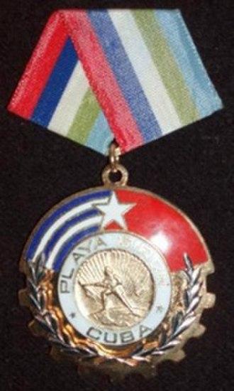 Lolita Lebrón - The Order of Playa Girón
