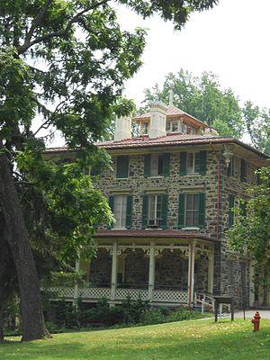 Gwynns Falls Leakin Park - Image: Orianda Mansion