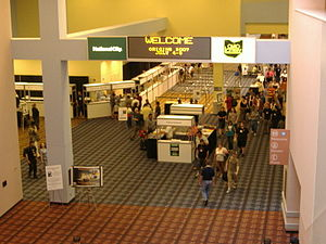 Origins Game Fair - Registration area of Origins
