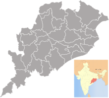 Orissa districts blank.png