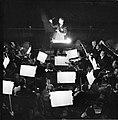 Orkest in de orkestbak van de Scala in Milaan, Bestanddeelnr 254-5332.jpg