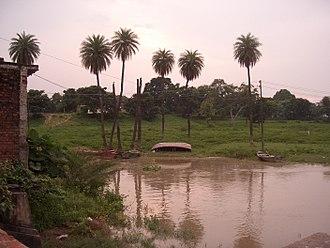 Massacre Ghat - Satti Chaura Ghat, Kanpur, Ganges river.