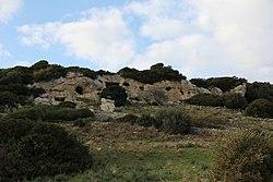 Ossi - Necropoli di Mesu 'e Montes (06).JPG