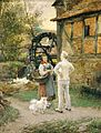 Otto Piltz Bei der Cappeler Mühle.jpg