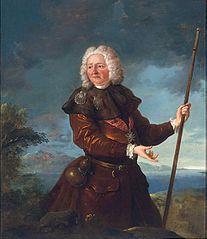 Portret króla Stanisława Leszczyńskiego w stroju pielgrzyma