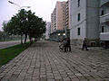 Outside the Hot Pot Restaurant, Pyongyang (6073766118).jpg