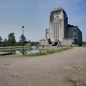 Mindhunters - 'Building A' of Radio Kootwijk, one of the film locations