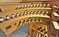 Püttlingen, Liebfrauenkirche (Haerpfer-Orgel, Spieltisch) (3).jpg