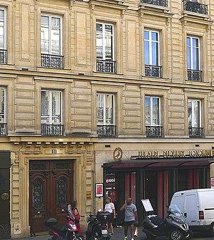Théâtre du Vieux-Colombier - Entrance of the theater, 21 rue du vieux colombier