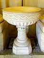 P1280802 Paris XX eglise Notre-Dame-de-la-Croix de Ménilmontant cuve baptismale rwk.jpg
