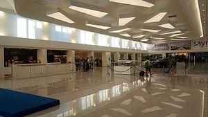 Alghero-Fertilia Airport - Terminal interior
