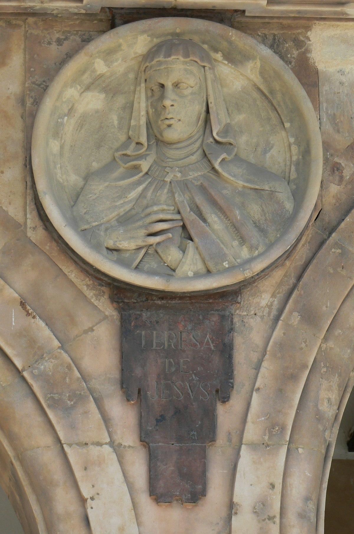 Pabellón Petrineros medallón 03 Teresa de Jesús.JPG