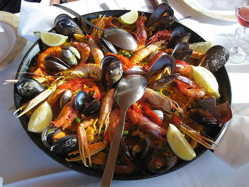 Seafood Paella Recipe Food Network