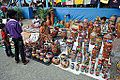 Painted Potteries Stall - West Bengal State Handicrafts Expo - Milan Mela Complex - Kolkata 2014-12-06 1155.JPG