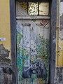 Painted door at Rua de Santa Maria (Funchal) (24244850858).jpg