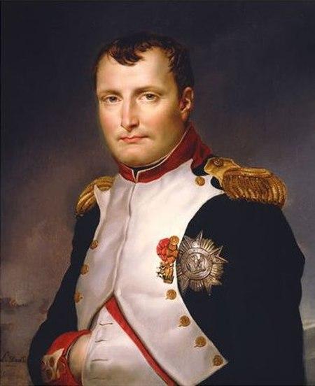 Painting of Napoleon Bonaparte by Jacques-Louis David, 1813.jpg