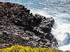 Paisaje en Punta Pitt, isla de San Cristóbal, islas Galápagos, Ecuador, 2015-07-24, DD 48.JPG