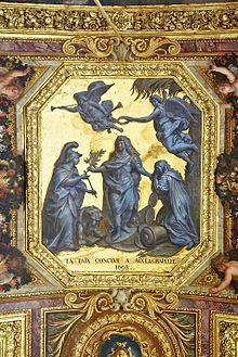 Trait d 39 aix la chapelle 1668 wikimonde - Plafond de la chapelle sixtine description ...
