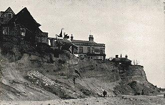 Pakefield - Image: Pake erosion 2
