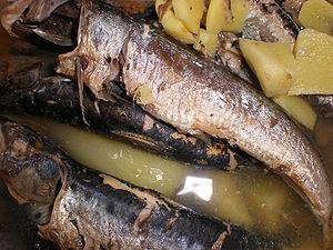 Paksiw - Image: Paksiw with sardines