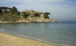 Palamós, Castillo de Sant Esteve de la Fosca-PM 28480