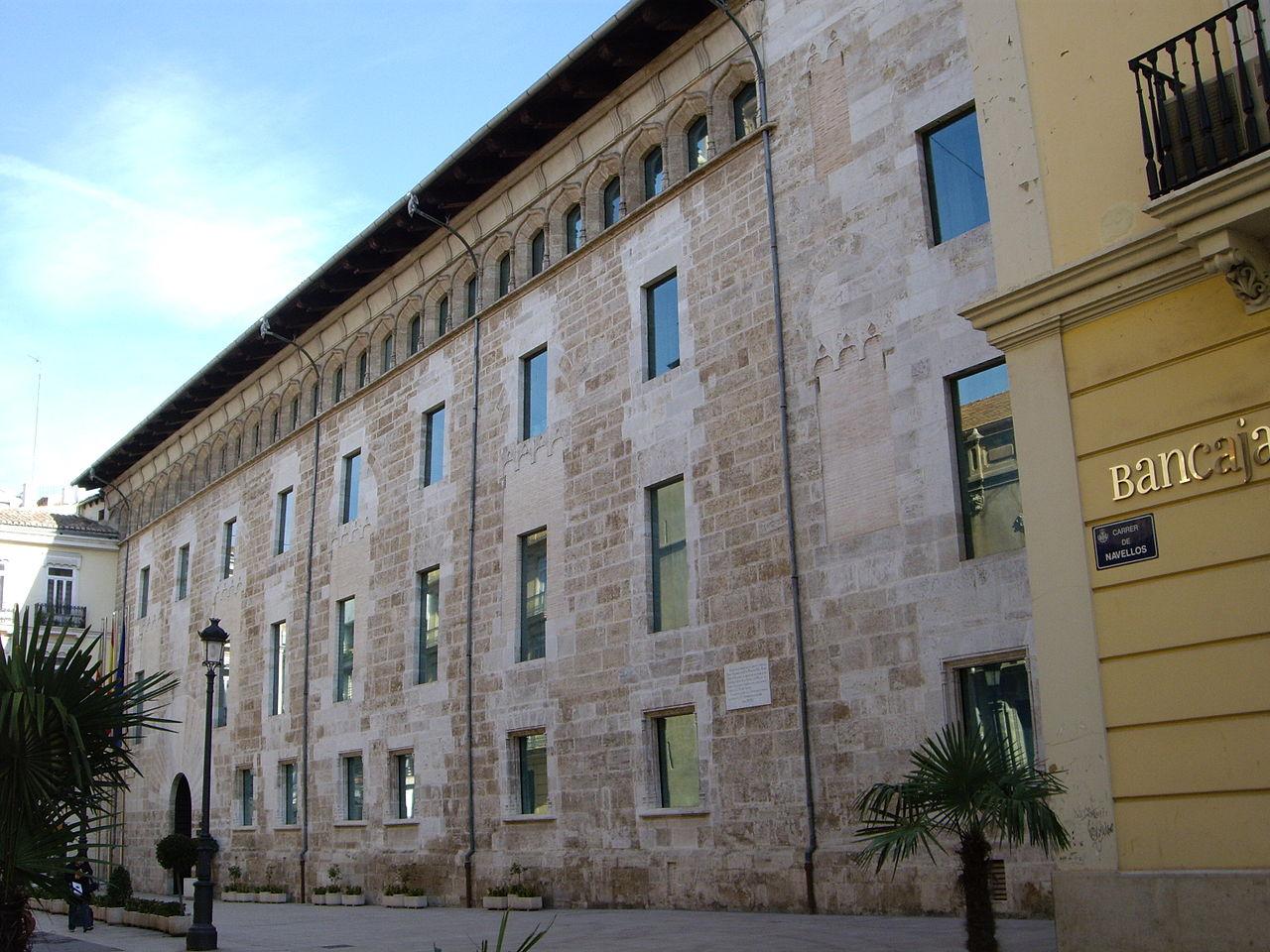 Archivo palau de benicarl dels borja o de les corts - Palau de les heures ...