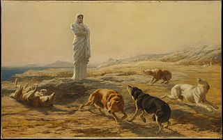 Pallas Athena and the Herdsman's Dogs