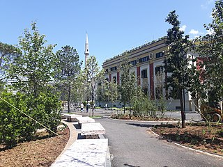 Europe Park as part of the redesigned Skanderbeg Square
