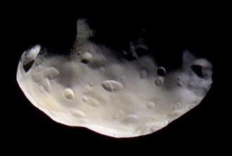 Pandora (moon) - Image: Pandora PIA07632