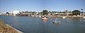 Panorámica del río Guadalete y del Parque Calderon, El Puerto de Santa María, Cádiz.jpg