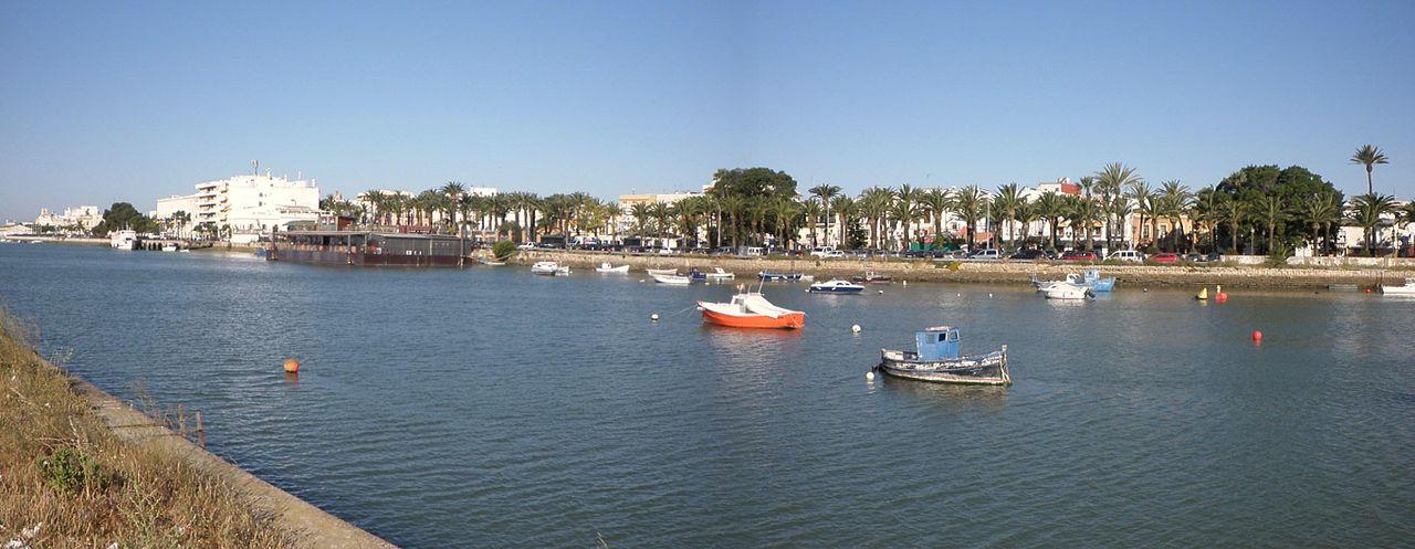 File panor mica del r o guadalete y del parque calderon el puerto de santa mar a c - Fisioterapia en el puerto de santa maria ...