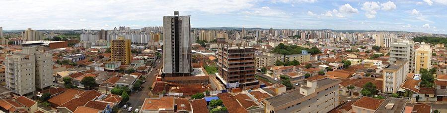 Panorama da Região Centro-Sul de Ribeirão Preto.