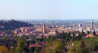 Cesena - Panorama of Cesena