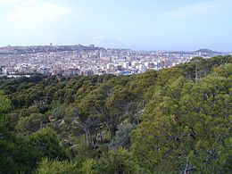 Panorama of Cagliari from the hill and park of Monte Urpinu.jpg
