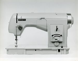Marco Zanuso - Sewing machine mod. 1102 (Fratelli Borletti). Compasso d'oro Award. Photo by Paolo Monti, 1956