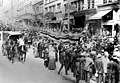 Parade on 2nd Ave featuring Chinese dragon, Seattle, 1909 (SEATTLE 606).jpg