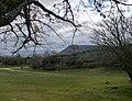 """Paraje de Valonsadero (Soria), al fondo """"Pico Frentes"""".jpg"""