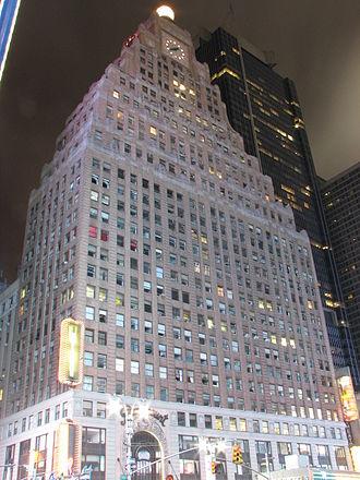 Rapp and Rapp - Image: Paramount Building Jorge Eduardo Rubies