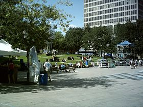 image illustrative de l'article Place Émilie-Gamelin