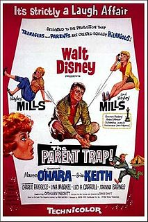 <i>The Parent Trap</i> (1961 film) 1961 film by David Swift