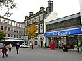 Part of Guildhall Square, Carmarthen - geograph.org.uk - 1171644.jpg